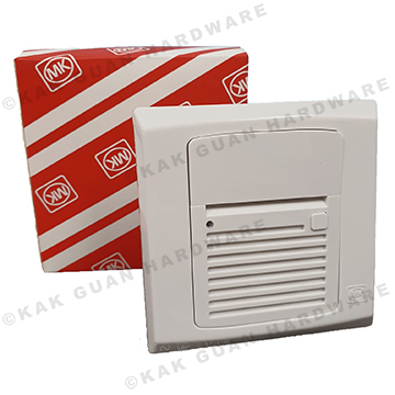 MK S4338WH 4.5V BATTERY OPERATED DOOR CHIME