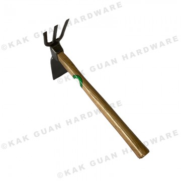 GJ-7002 FORGED HOE WITH FORK