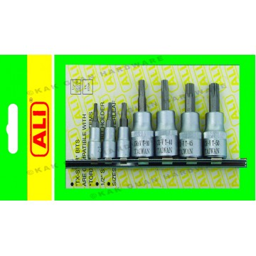 ALI 503-00707 7PCS TORX-STAR SOCKET