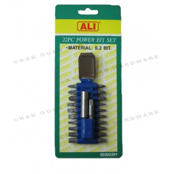 ALI 503-02201 22PCS POWER BIT SET
