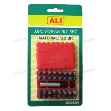 ALI 503-03301 33 PCS POWER BIT SET