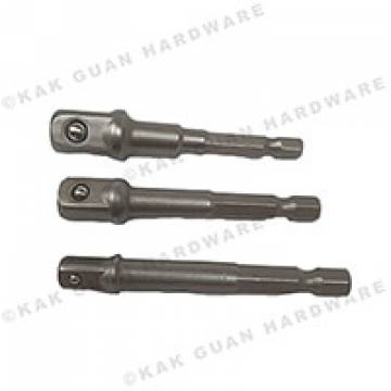 "1/4"", 3/8"", 1/2""  MAGNETIC NUT SETTERS X 1/4"" HEX (3PCS)"