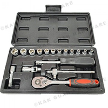 "GTY CR-V 17PCS 1/4"" SOCKET TOOL SET"