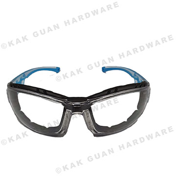 I-16015A-B9 SAFETY GOGGLE CLEAR LENS