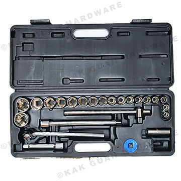 24PCS SOCKET SET 1/2""