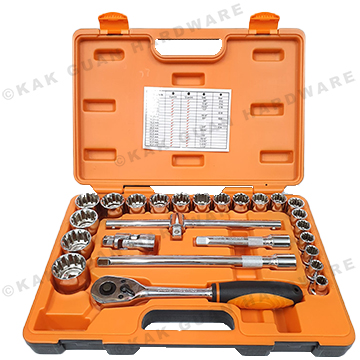 "25PCS 1/2"" MULTI LOCK SOCKET WRENCH"
