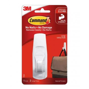 3M COMMAND 17003 GENERAL PURPOSE LARGE UTILITY HOOK