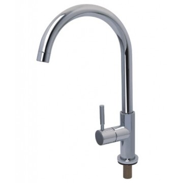 "SHOWY 2951 SINGLE LEVER SINK TAP C/W SWIVEL ""J"" SPOUT"