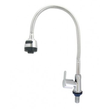 SHOWY 2987J-F50 SINK PILLAR TAP + 50CM FLEXIBLE SPOUT