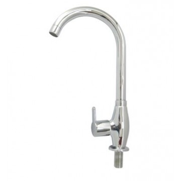 "SHOWY 3110-2987 ""HIGH-GRADE"" THE PURE METAL KNOB SINK TAP"