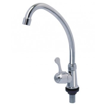 SHOWY 6051 QUARTER TURN SINGLE LEVER LONG SPOUT SINK TAP