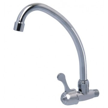 SHOWY 6053 QUARTER TURN SINGLE LEVER WALL SINK TAP