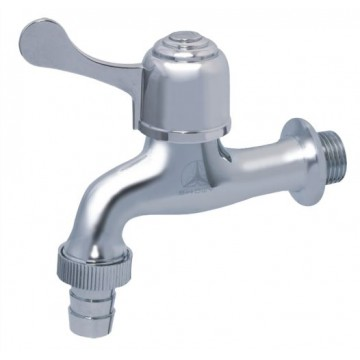 "SHOWY 6055N QUARTER TURN SINGLE LEVER BIB TAP + 1/2"" NOZZLE"