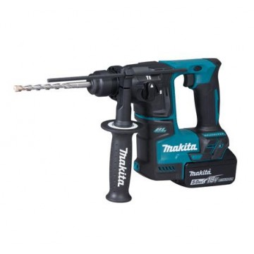 "MAKITA DHR171RTJ 18V 11/16"" (17MM) CORDLESS ROTARY HAMMER, (2 BATTERIES, 5.0AH)"