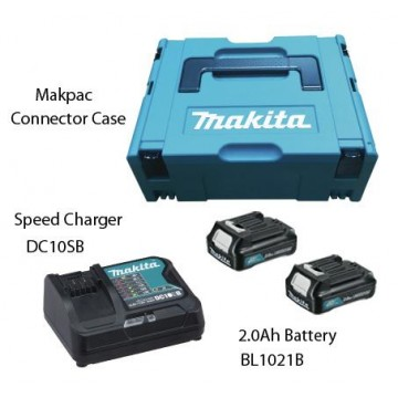 MAKITA MKP1SA122 12V MAKPAC POWER SOURCE KIT (2.0Ah)
