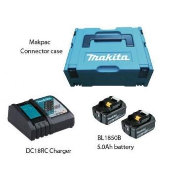MAKITA MKP1RT182 18V MAKPAC POWER SOURCE KIT (5.0Ah)