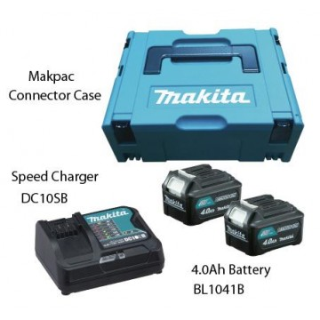 MAKITA MKP1SM122 12V MAKPAC POWER SOURCE KIT (4.0Ah)