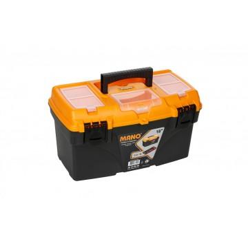"MANO C.O-18 18"" TOOL BOX WITH ORGANISER"