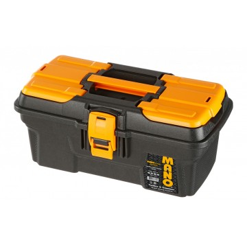 "MANO MGP-13 13""GRIP SERIAL TOOL BOX WITH PLASTIC LATCH"