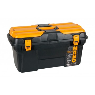 "MANO MGP-22 22"" GRIP SERIAL TOOL BOX WITH PLASTIC LATCH"