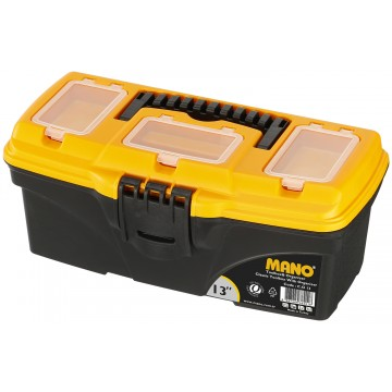 "MANO C.O-13 13"" TOOL BOX WITH ORGANISER"
