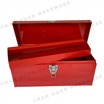 MB-425 RED METAL TOOL BOX