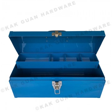 TB-396 BLUE METAL TOOL BOX