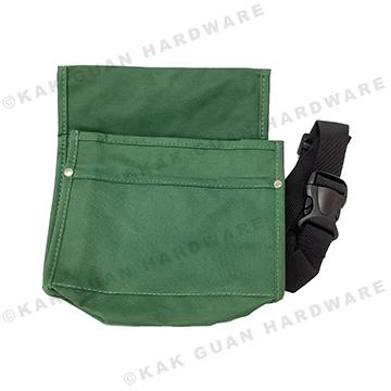 GREEN NAIL BAG