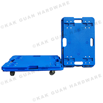 FD100 BLUE PLATFORM TROLLEY WITHOUT HANDLE