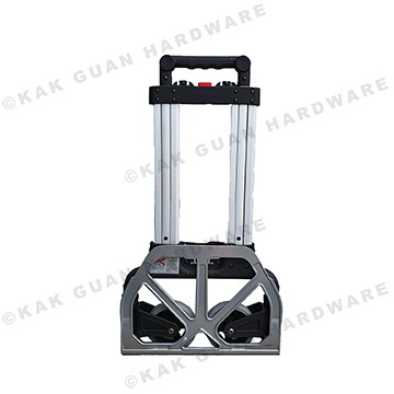 FW-90MS ALUMINIUM BLACK 2-WHEEL FOLDABLE TROLLEY (70KG)
