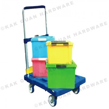 MIC6708 BLUE FOLDABLE TROLLEY (150kg)