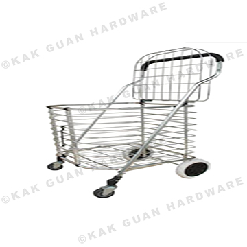 T-110 ALUMINIUM SHOPPING BASKET