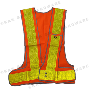 HS774-1 SAFETY VEST O & Y REFLECTIVE