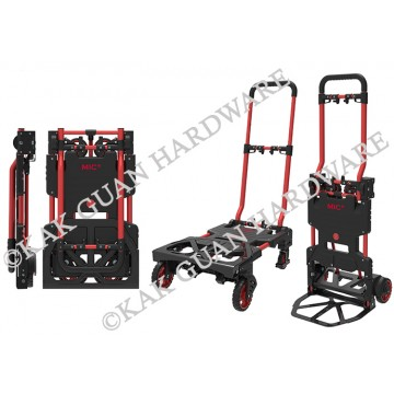 MIC2001 RED 2-WAY FOLDABLE TROLLEY